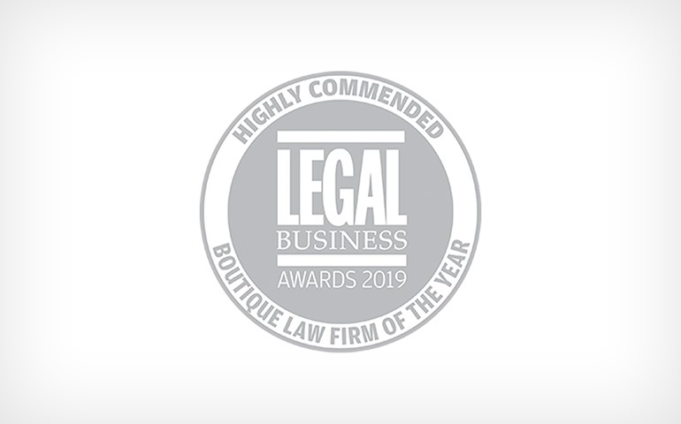 CYK 'Highly Commended' in Legal Business Awards | Cooke